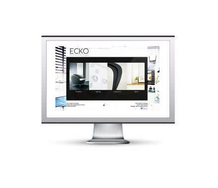 Ecko Furniture Website Experimental Re-make