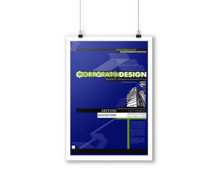 Corporate Design Poster