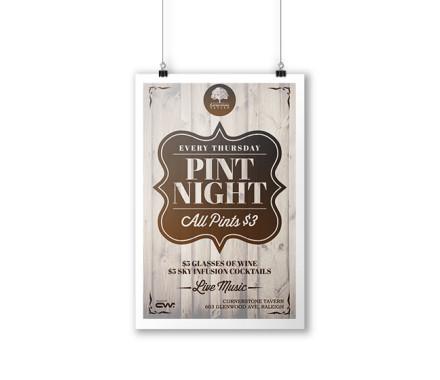 Pint Night Flyer