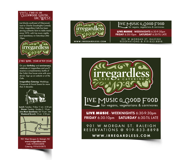 irregardless brand