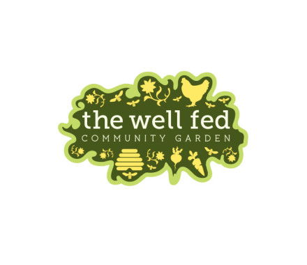 The Well Fed Community Garden logo